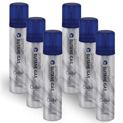 cc75e4f91227 Colibri Butane Triple-Refined - Set of 6 Cans