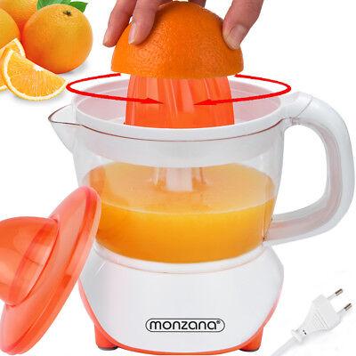 monzana® Elektrische Zitruspresse Entsafter Fruchtpresse Zitronenpresse