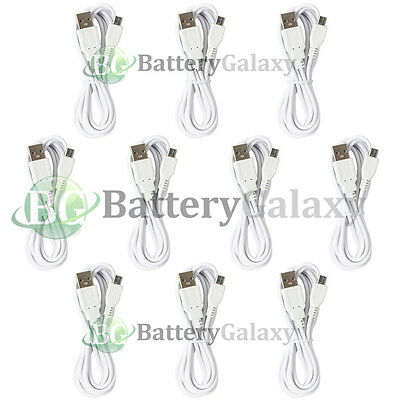 10 USB 6FT Micro Cable for Phone Samsung Galaxy S3 S4 S5 S6 S7 Note 1 2 3 4 5