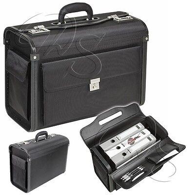 Pilotenkoffer DERMATA 7039NY Business Dokumenten Reise Bord Tasche Koffer Gepäck