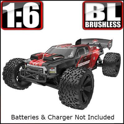 Redcat Racing Shredder 1/6 Scale Brushless Electric Monster RC Truck Red NEW (Shredder Rc)