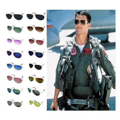 Fashion 80s Retro Designer Shade Mens Womens Pilot Style Sunglasses Ladies UV400