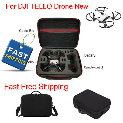 Portable Shoulder Bag Case Protector EVA Internal Waterproof For DJI TELLO Drone