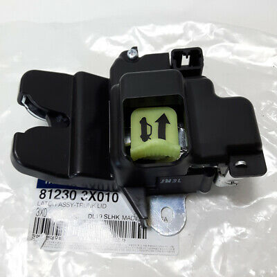 Genuine 2011-2016 Hyundai Elantra Trunk Lock Actuator Tail Gate Latch 812303X010