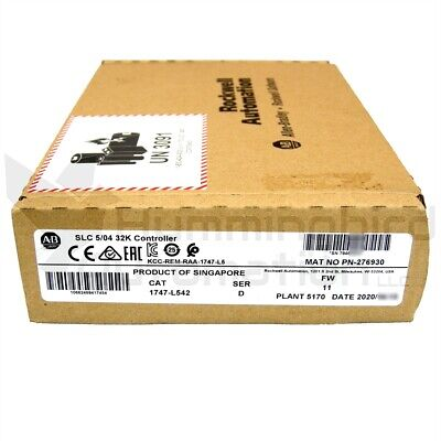 2020 New Sealed Allen Bradley 1747-l542 D Frn 11 Slc500 Plc Processor 504