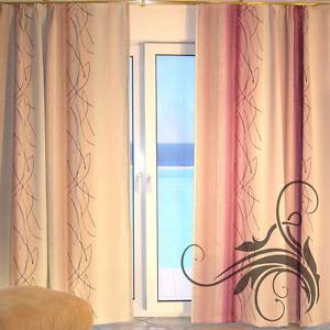 deko schal verdunkelungsvorhang verdunklungsstoff vorhang blickdicht verona. Black Bedroom Furniture Sets. Home Design Ideas