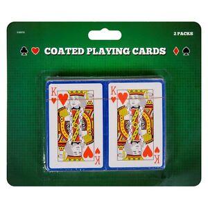 Paquete-de-2-BARAJA-Poker-JUEGOS-AZAR-Snap-etc-Kings-Reinas-Ace