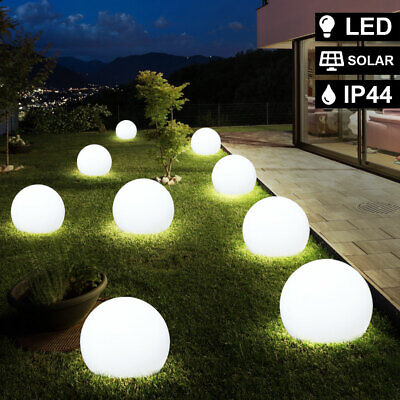 9x LED solar plug-in lights ball lights outdoor lighting garden courtyard lamps