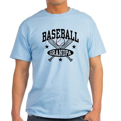 CafePress Baseball Grandpa Light T Shirt 100% Cotton T-Shirt (1003349946)