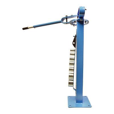 Pedestal Floor Compact Bender Bending Metal Fabrication Manual 1 To 3 Dies