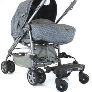 Black Childs Ride On Buggy Stroller Board To Fit Stroller Pushchairs & Prams