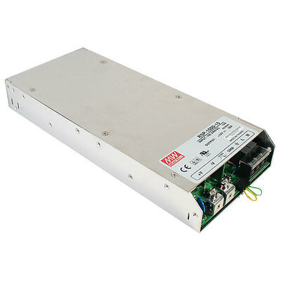 Mean Well Rsp-1000-24 Ac To Dc Power Supply Single Output 24 Volt 40 Amp 960 Wat