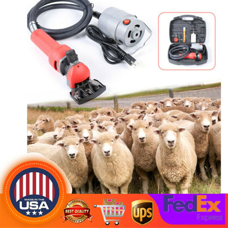 Electric Flexible Shaft Sheep Goat Shearing Machine Wool Clipper Shears Cutter