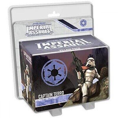 Star Wars Imperial Assault - Captain Terro Villain Pack