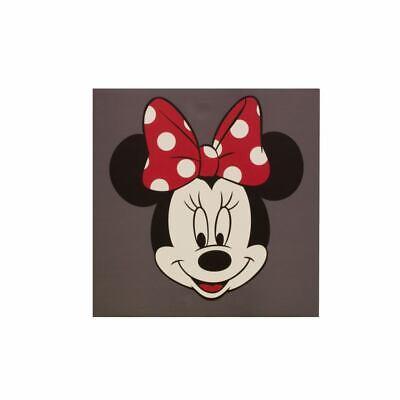 Wandbild Leinwand Keilrahmen Disney Minnie Maus Kinder 35x35cm