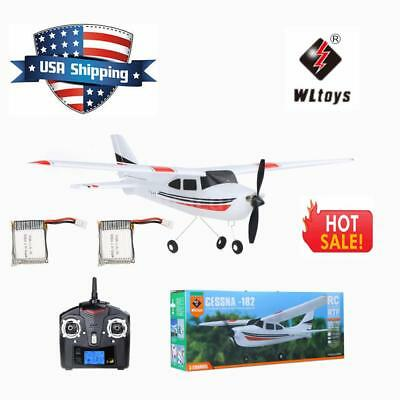 Super Wltoys F949 2.4G 3CH RC Airplane Fixed Wing Plane Toys two Batteries Drone