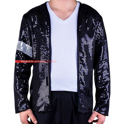 Michael Jackson Costume  Billie Jean Armband Sequin Jacket  - Michael Jackson Costume Billie Jean