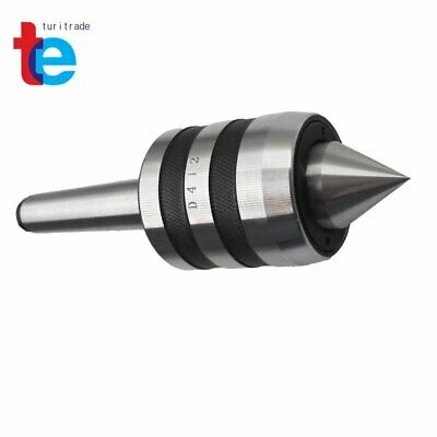New Mt2 Live Center Morse Taper 2mt Triple Bearing Lathe Medium Duty Cnc