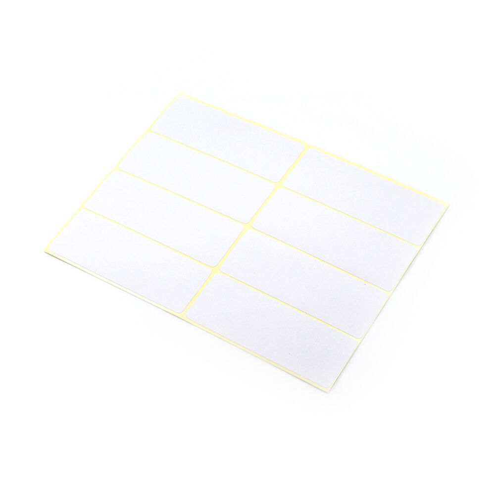 New Sticky Labels White Blank Labels Self Adhesive Address L