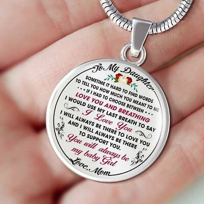 Mom to Proud Daughter Gift Idea from Mother Mommy Unique Novelty Luxury - Mothers Gift Ideas