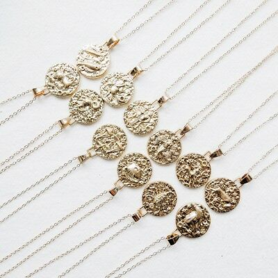 Virgo Sign - Star Sign Zodiac Constellation Necklace Aries Gemini Scorpio Leo Libra Virgo 1pc