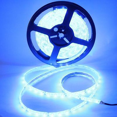 12V 5m 300LED SMD3528 Blue Strip Light Epoxy Waterproof Ribbon Tape Roll Xmas on Rummage