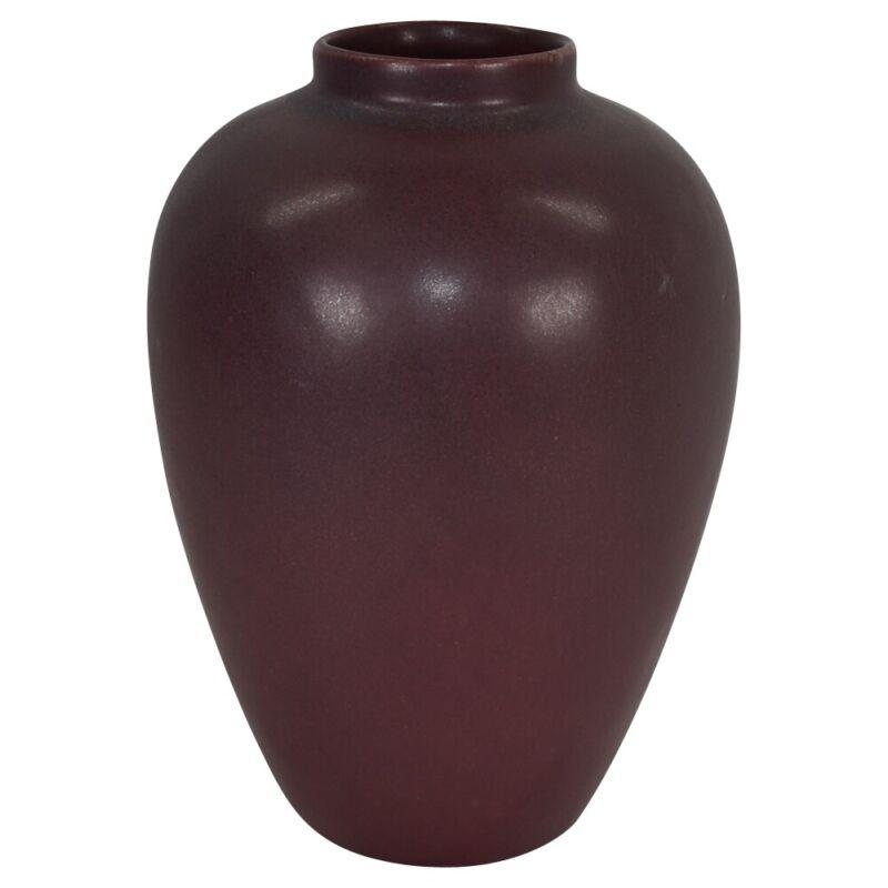 Van Briggle Pottery Late Teens Mulberry Vase Shape 269
