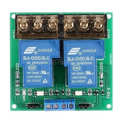 Dc 5v12v24v 30a Optocoupler Isolation Relay Board Module Highlow Trigger Tool