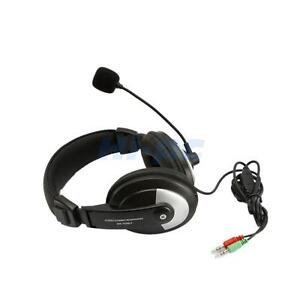 New Headset Microphone/Headphone with 3.5mm for PC Notebook/Laptop Computer