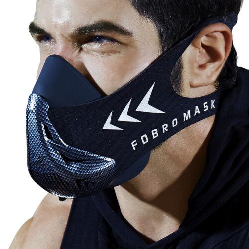 FDBRO Sports Running Mask Gym Workout High Altitude Training Fitness Sport Masks