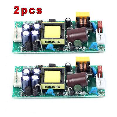2x Ac 85v-265v To Dc -15v Dual Output Ac-dc Step Down Power Supply Module Lot