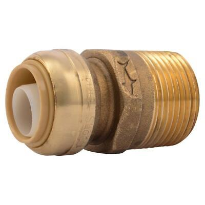 SharkBite 3/4 in. Brass Push-to-Connect x 1 in. Male Pipe Thread (4in Male Pipe Thread)