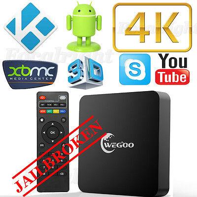 T95N MX+ Android 4K TV Box Quad Core KODI XBMC Fully Loaded Free Sports Movies