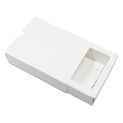 Drawer Box White Kraft Paper Gift Craft Jewelry Packing Box Wedding Party Favor