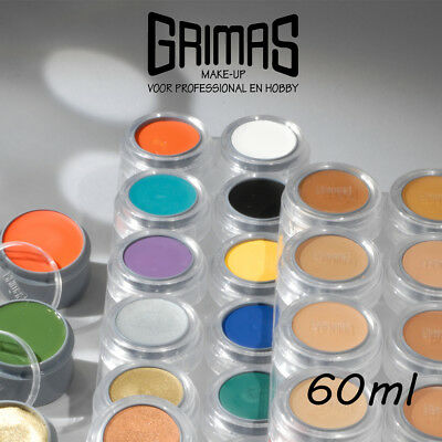 Grimas Crème Make-up, 60 ml. Profi Schminke