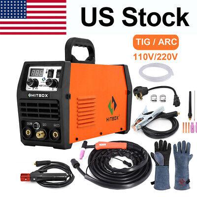 Hitbox 200a 110220v Tig Welder Dual Volt Inverter Mma Arc Tig Welding Machine