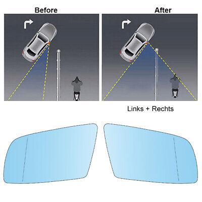 Links Asphärisch Fahrerseite Spiegelglas für BMW 5er 2011-2016