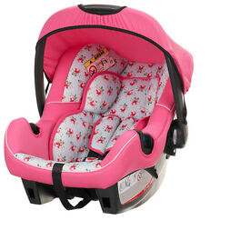 Obaby Cottage Rose Group 0+ Car Seat (NEW)
