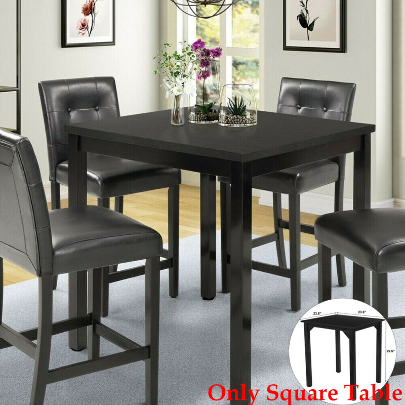 Small Dining Set Counter Ht Table Desk Kitchen Breakfast Noo