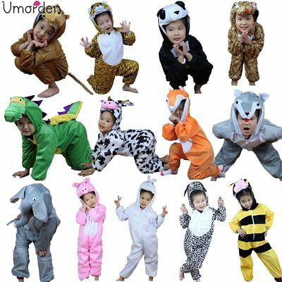 Halloween Children Kids Cartoon Animal Costume Costumes Cosplay for Boy Girl - Halloween Kids Cartoon