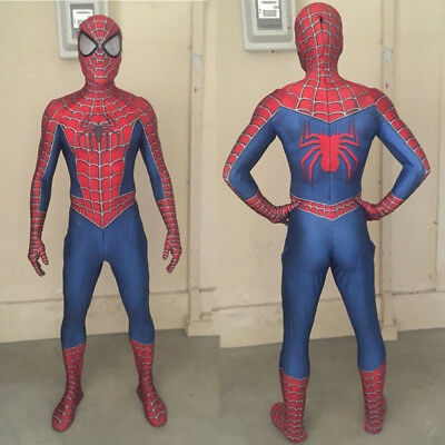 the amazing spider man 3 Raimi Spiderman Cosplay Costume Superhero Hot Sell - The Amazing Spider Man Costumes