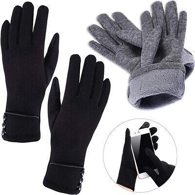 Winter Warm Thick Soft Cashmere Touch Screen Fleece Gloves For Women Best (Best Winter Dress Gloves)