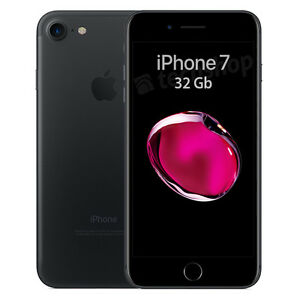Apple-iPhone-7-32Gb-Black-GARANZIA-2-ANNI-Nero-Opaco-4-7-034-12Mpx-4G-NUOVO