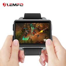 LEM4 Pro Montre Cardiofréquencemètre Lemfo Smart Watch GPS Android 16G Caméra