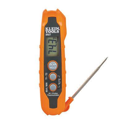 New Klein Tools Ir07 Dual Ir Probe Thermometer