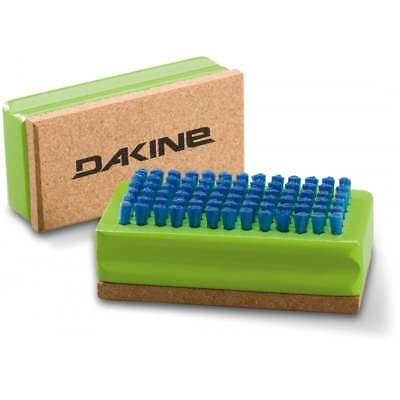 Dakine Nylon / Cork Ski & Snowboard Wax Brush 2018 Green
