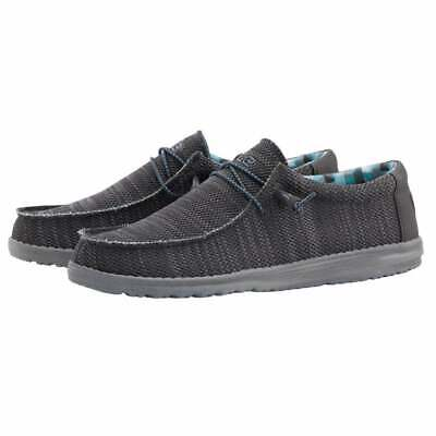 Hey Dude Shoes | Mens Wally UK 7/8/9/10/11/12 | 100% GENUINE | Free Delivery
