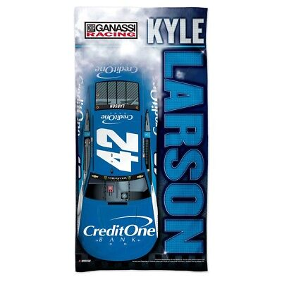 Kyle Larson 2018 Spectra  42 Credit One 30  X 60  Beach Towel Free Ship