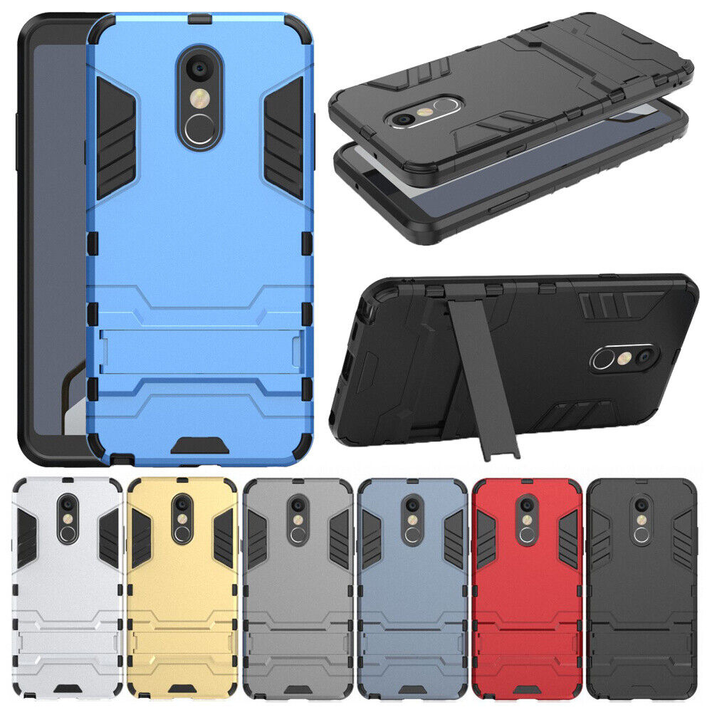 Hybrid Shockproof Heavy Duty Rubber Cover Back Case For LG S