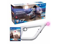 PS4 Aim controller + Farpoint VR game NEW Unopened